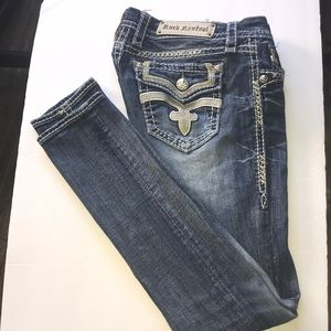 Rock Revival women's jeans, great condition